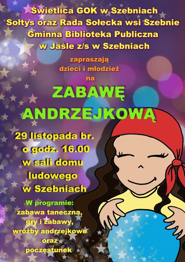 Zabawa Andrzejkowa Zapowiedzi Aktualności Szebieński